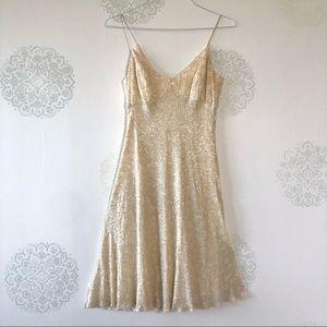 Vintage Carmen Marc Valvo Sequin Dress